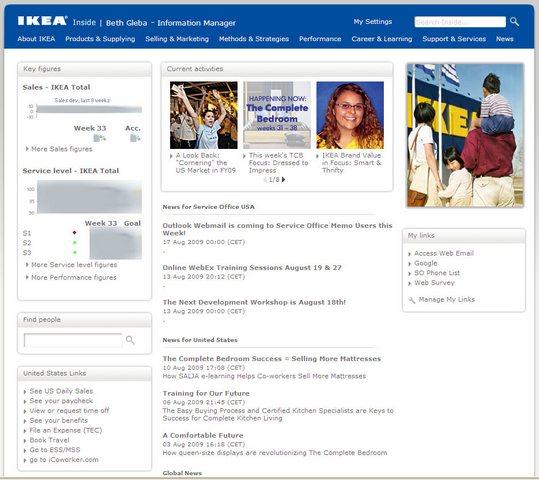 Paul Chin Online :: Inside IKEA's Intranet Approach Icoworker Ikea on